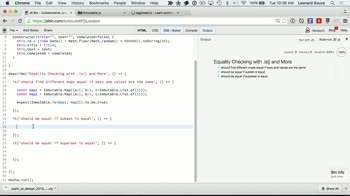 js tutorial about Equality Checking with .is() and More
