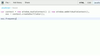 js tutorial about Intro to the Web Audio API