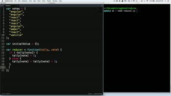 js tutorial about Reduce an array into a single object